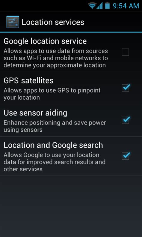 Android Without Services by Samsung Galaxy S 2 Is There A Way To Get Gps To Work