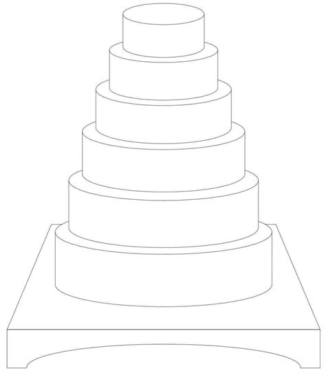 Wedding Cake Template by Choosing Your Design Sketches Search