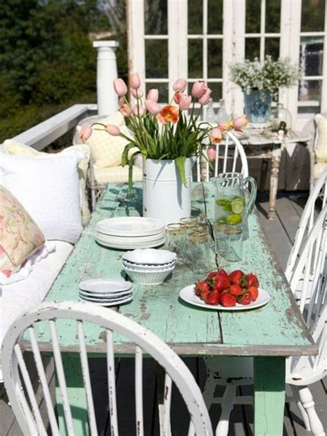 patio shabby chic cottage decorating diy porch decor pinterest designs shabby chic