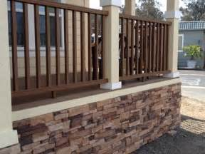 Stone skirting here are some great photos of a new manufactured home