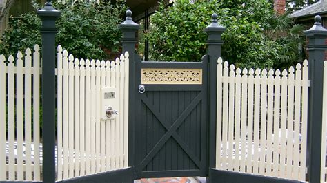 picket fence styles geelong belmont fencing products