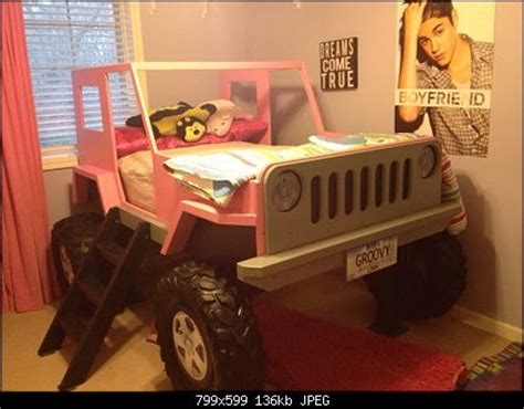 Jeep Bed Jeep Bed For The Room Kcrof On The Wranglerforum