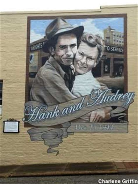 Marriage The Garage by Andalusia Al Mural Hank Williams Marriage Garage