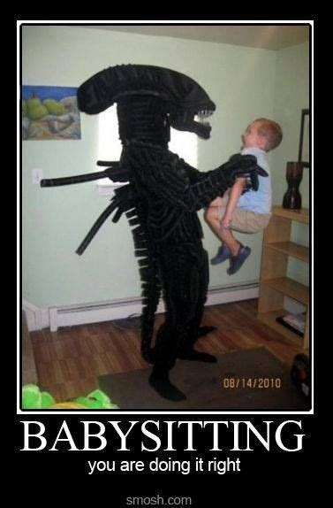 Babysitting Meme - 17 best images about xenomoph on pinterest xenomorph aliens and japanese toys