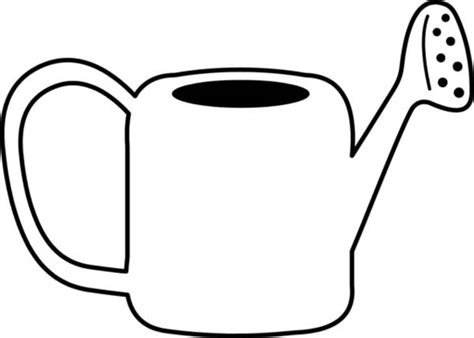 Kids Drawing Of Watering Can Coloring Page Kids Drawing Watering Can Coloring Page