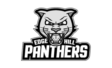 Graphic Design Edge Hill | edge hill panthers logo design on behance