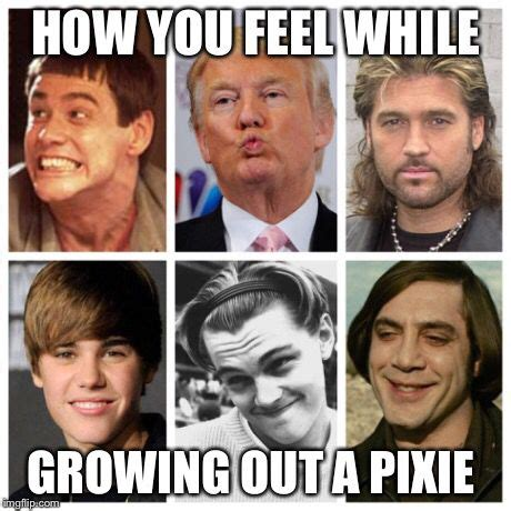 pixie grow  stages ugh hair pinterest  hair remember    life