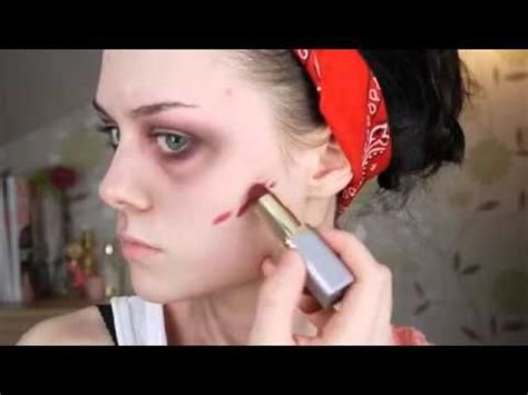 zombie scar tutorial 25 best ideas about zombie makeup easy on pinterest