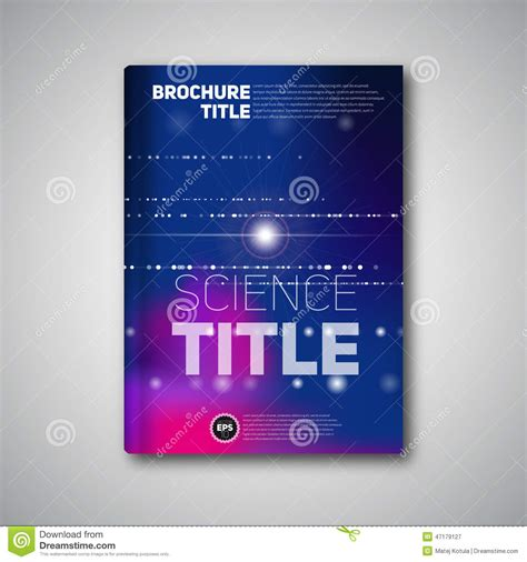 modern vector abstract brochure book flyer design