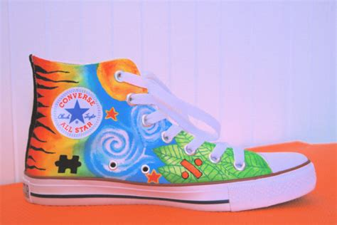 ed sheeran tattoo shoes for sale items similar to ed sheeran tattoo painted converse on etsy