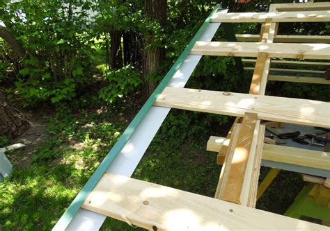 Putting A Roof On A Shed by Installing Metal Roofing Shed Free Programs Utilities