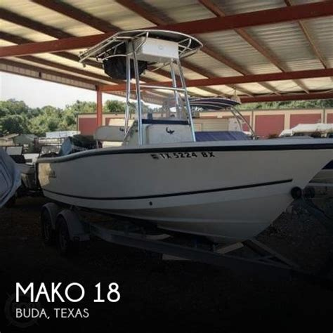 18 foot mako boats for sale mako 18 boat for sale in buda tx for 24 500 pop yachts