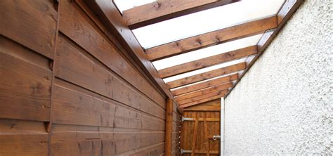 ag remodelling projects side passage polycarbonate roof