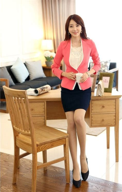Baju Jaket Cardigan Wanita Stripe Korean Menambah Style Fashion Merah jaket korea wanita blazer wanita korea design bild