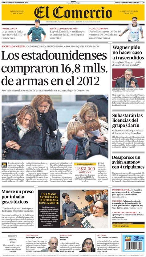 diario el comercio peru noticias de peru hoy peri 243 dico comercio per 250 peri