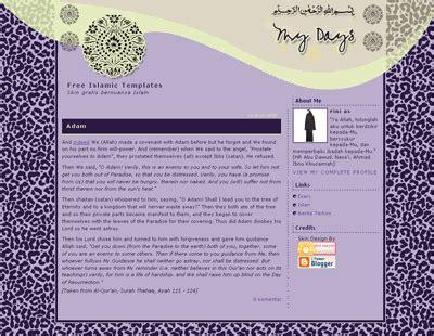 islamic templates for blogger islamic blog template design