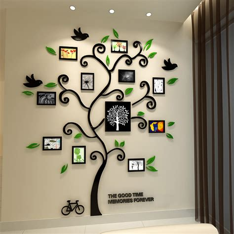 Wall Stiker Pohon Bingkai Photo 3 Dimensi 2 baru 2015 bahagia pohon bingkai foto stiker
