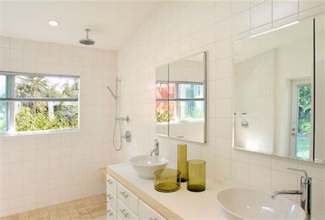 Glass Tile Ideas For Small Bathrooms doorless shower designs teach you how to go with the flow