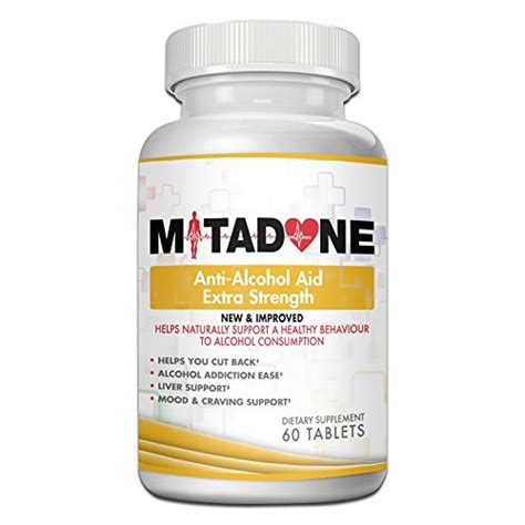 Vitamin B1 Detox by Mitadone Anti Aid With Milk Thistle Kudzu Root