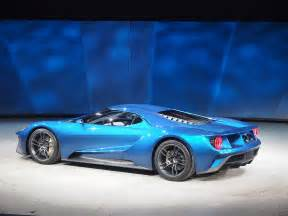 The Ford Gt 5 Things To About The 2016 Ford Gt So Far