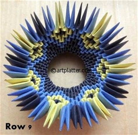 3d origami bowl tutorial 17 best images about origami 3d on pinterest origami