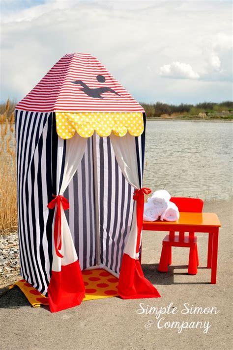pvc pipe dressing room make a pvc summer cabana tatertots and jello idea pools changing rooms diy pvc summer