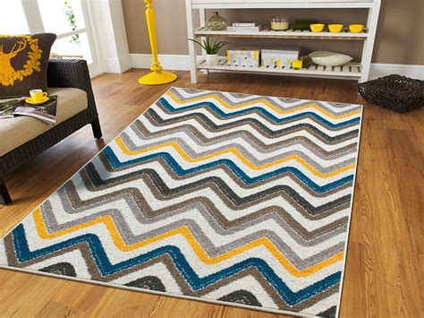 Chevron Rug Living Room by Chevron Rug Blue Mohawk Lascala Room Living Room Chevron Rug