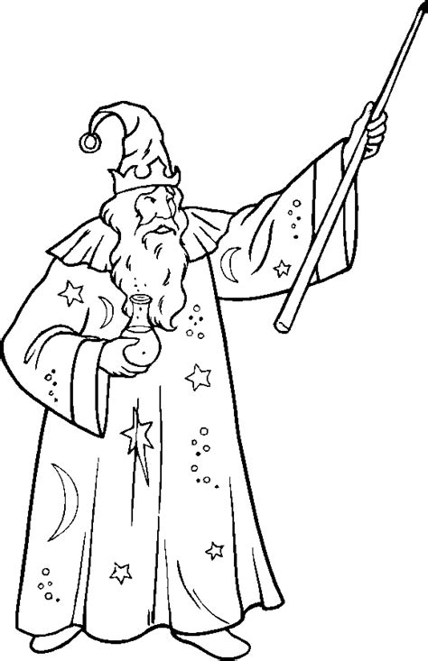 wizard coloring pages printable coloring pages