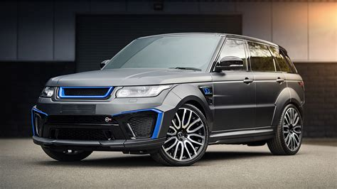 kahn range rover sport tuningcars kahn design and the stealthy sexiness it s