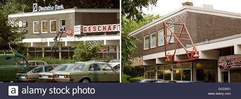 deutsche bank gladbeck combo a composite photo shows the shopping center today