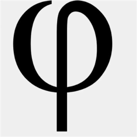 lettere fi phi symbol golden ratio the golden sweet