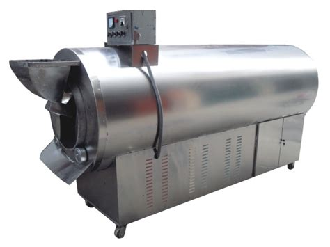 LQ 200X high quality electric cocoa bean roaster dryer machine, product picture   Makepolo