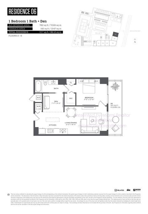 midtown residences floor plan hyde midtown miami