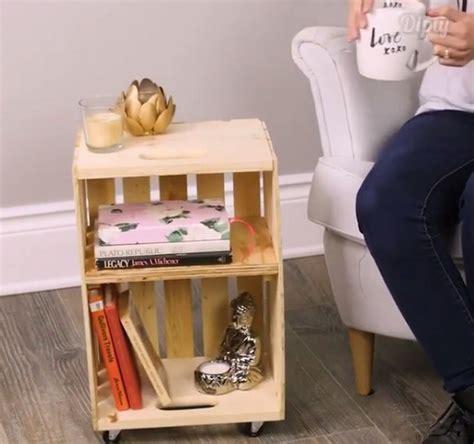 Rak Tv Beroda kreatif banget kayu bekas bisa jadi meja simpel beroda okezone lifestyle