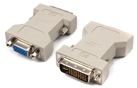 Adaptor Vga To Dvi dvi i to vga socket adaptor dvi to vga