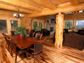 Log Cabin Home Interiors by Highlands Log Structures Log Homes Interior Gallery