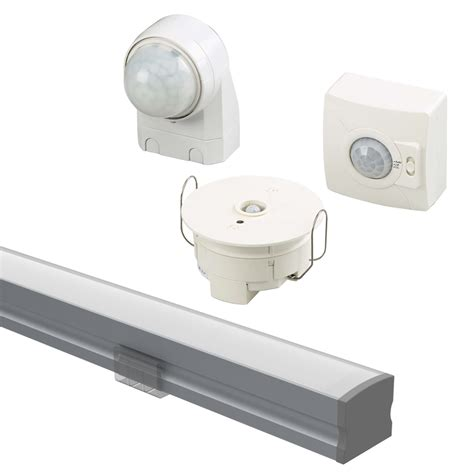 lighting components connected light