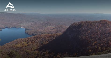 table rock state park trails best trails in table rock state park south carolina