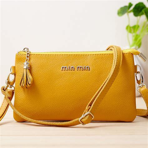 Min Min Single Bag 6539 2015 new brand min min purses and handbags fashion genuine leather shoulder bags