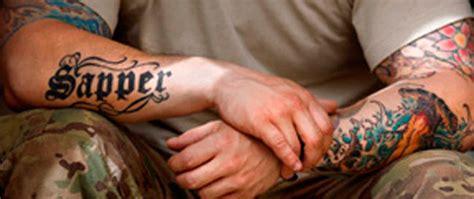 tattoo militaire québec 2014 grassi e con troppi tatuaggi l esercito usa non arruola