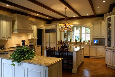 Kitchen Ceilings With Beams by Antique Wood Beams Kitchen Ceiling Designing Your