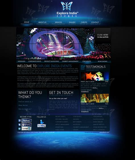 creative web creative web template design by designerajain on deviantart