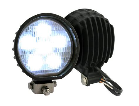 Led Truck Lights by Truck Lite Led Auxiliary Work Light Black Finish 81360
