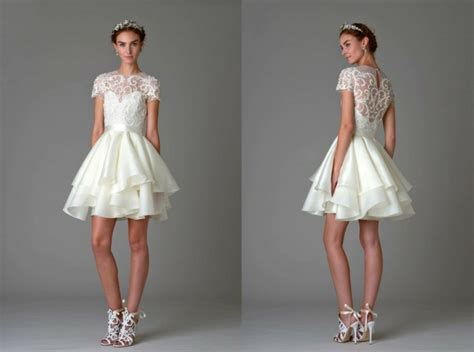 Brautmode Kurze Kleider by Hochzeitskleider