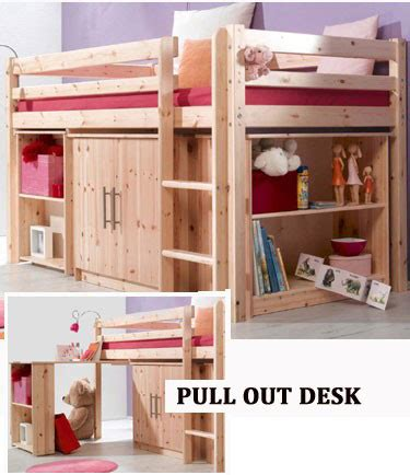 Childrens Cabin Beds With Desk by Cabin Bed With Desk And Cabinet