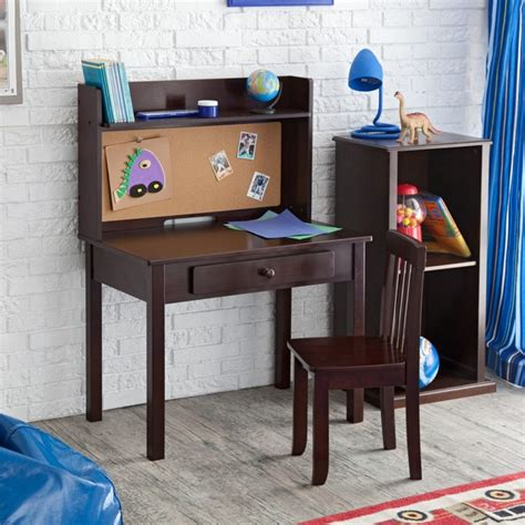 kidkraft pin board desk with hutch chair contemporary