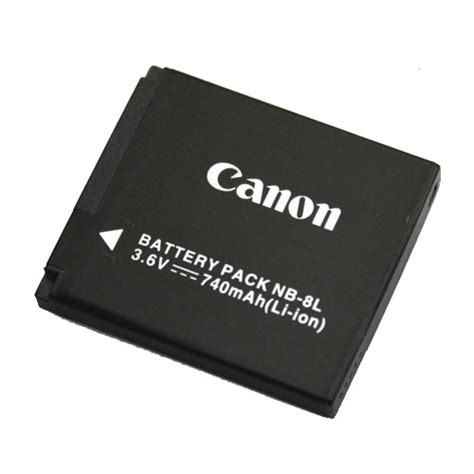 Sdv Battery For Canon Nb 8l canon nb 8l lithium ion battery