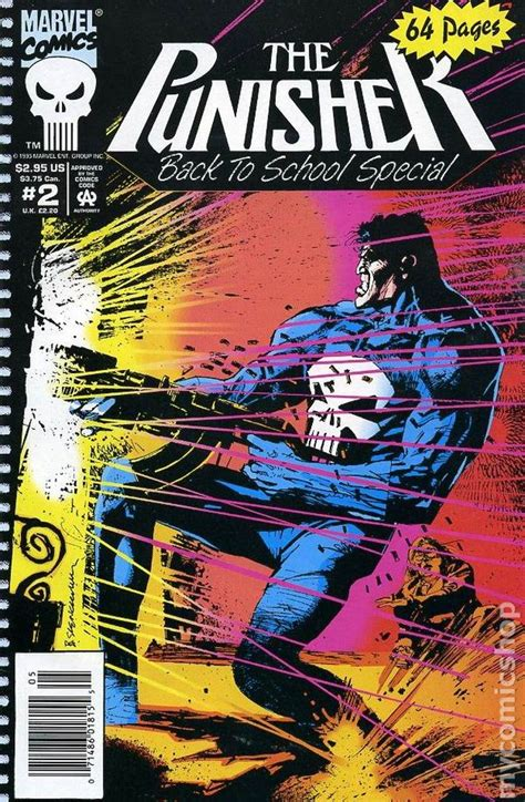 punisher back to the punisher back to special 1992 comic books 1990 1995