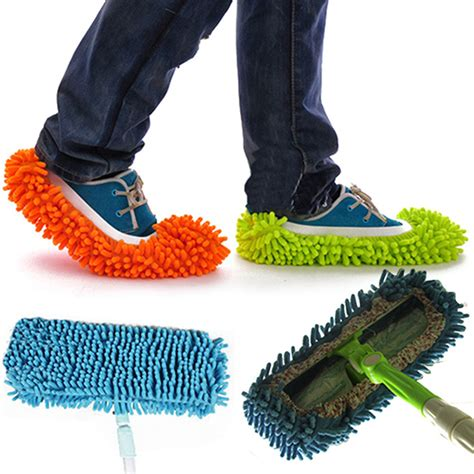 mop slippers home use cleaner dusting cleaning foot shoes mop slippers