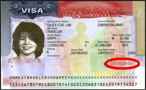 Visa Number Letter Where Is The Visa Number On A U S Visa Support Citizenpath